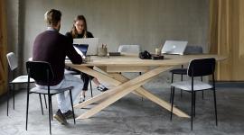 Table Mikado coworking - Ethnicraft
