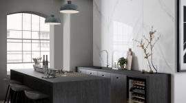 Dekton Bromo Kitchen