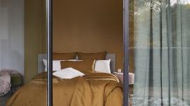 Ambiance linge de lit Carlina bronze - Madura