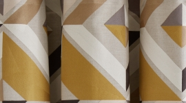 Rideau à oeillets dorés Eleazar - Madura