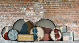 Collection de plateaux Dots glass - Ethnicraft