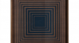 Plateau Ink Squares, 38 cm - Ethnicraft