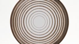 Plateau Cream Circles, 30 cm - Ethnicraft