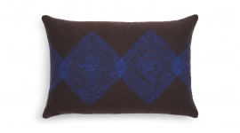 Coussin Brown Linear Diamonds - Ethnicraft