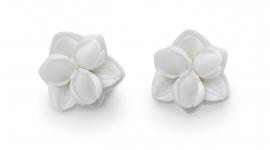 Lladró porcelain earrings