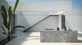 Dekton Nilium - outdoor kitchen