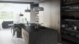 Dekton Milar kitchen