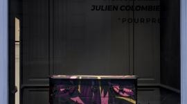 Commode 573 Pourpre Moissonnier x Julien Colombier vitrine