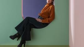 Portrait Marie-Lise Fery et suspensions Pop Up - Magic Circus