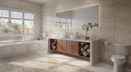 Dekton® Stonika Arga salle de bain