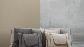 Moro abstract cushion