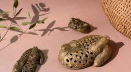 Librairie-boutique du quai Branly - Ambiance crocodiles Kerra