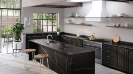 Silestone Eternal noir cuisine