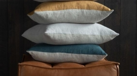 Collection de coussins Lin Sauvage - Ethnicraft