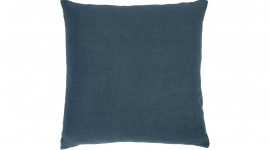 Coussin Lin Sauvage bleu - Ethnicraft
