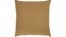 Coussin Lin Sauvage camel - Ethnicraft