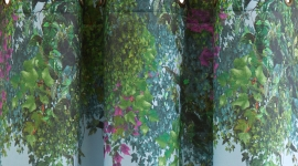 Rideau à oeillets Jardin Suspendu - Madura