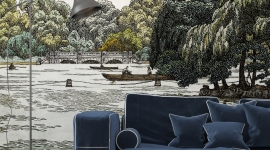 Les Dominotiers - Décor panoramique The Serpentine
