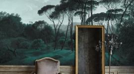 Les Dominotiers - Décor panoramique Pine Trees