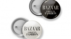 Broches Harpers Bazaar x Arteum