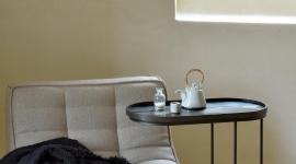 Table d'appoint pour plateaux ovale - Ethnicraft