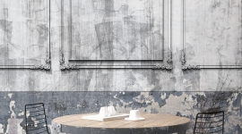Frame Patina wall - Les Dominotiers