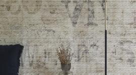 Newspaper grunge patina - Les Dominotiers