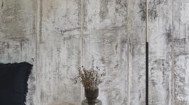 Grey concrete wall - Les Dominotiers