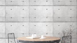 Concrete wall - Les Dominotiers