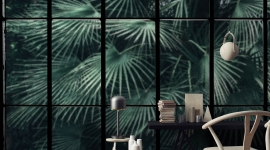 Tropical window - Les Dominotiers