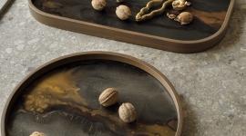 Plateau vide-poche organic Bronze - Ethnicraft