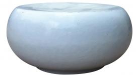 Pouf galet blanc - CFOC