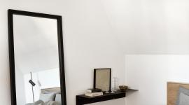 Miroir Light Frame noir - Ethnicraft