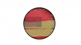 Plateau British abstract - Notre Monde