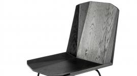 Chaise Facette noire - Ethnicraft