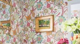 Papier peint Windsor, collection Canopy de Thibaut chez Au fil des Couleurs