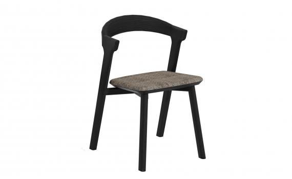 Chaise BOK - chêne noir et tissu - Ethnicraft