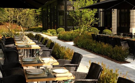 Domaine les cray res les restaurants images 14 septembre - Restaurant le jardin reims crayeres ...