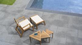 Tectona - collection southampton - fauteuil bas