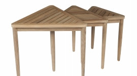 Tectona - collection southampton - tables gigognes