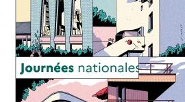 Affiche de la 6e édition des Journées Nationales de l'Architecture