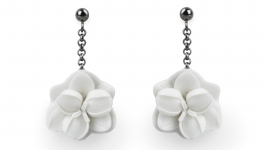 Lladró porcelain earrings